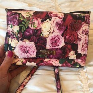 Handbags - Kate Spade Floral Cross Body or Shoulder Purse EUC